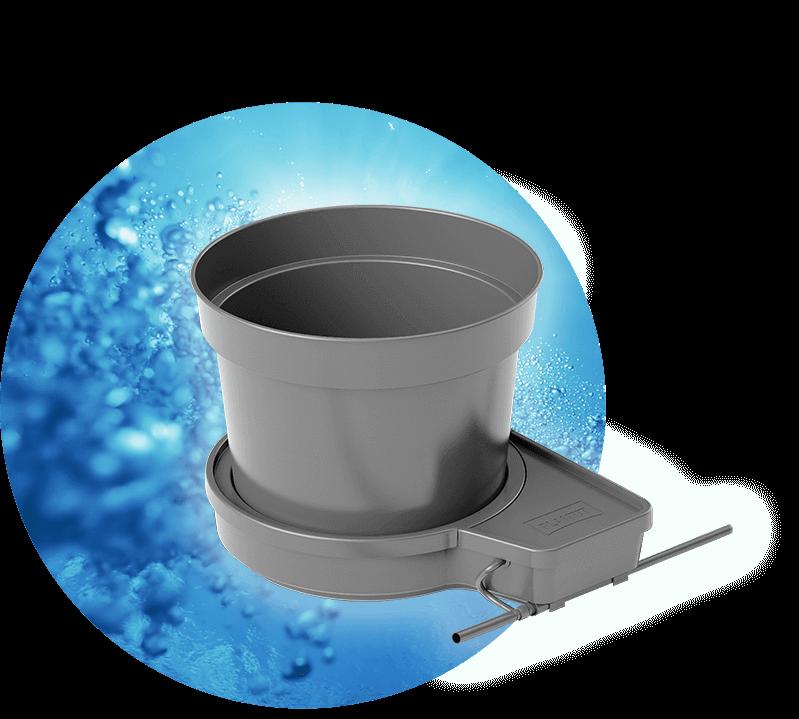 T gogro système modules Réservoir Irrigation Hydroponics 15 L 25 L PLANT